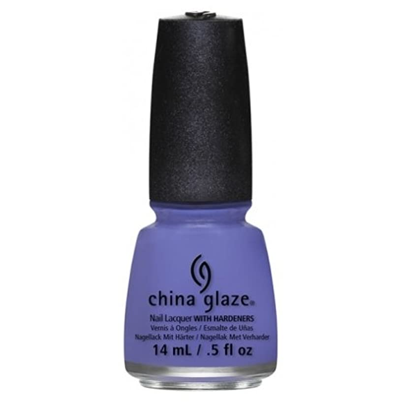 年金受給者作詞家似ているCHINA GLAZE Nail Lacquer - Art City Flourish - What A Pansy (並行輸入品)