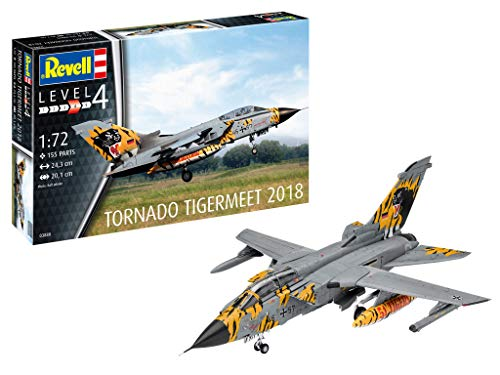 Revell 03880 1:72 Tornado ECR 'Tigermeet 2018' Plastic Model Kit
