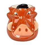 Disney 3D Pumba Mug The Lion King Mug, Ceramic, 375ml