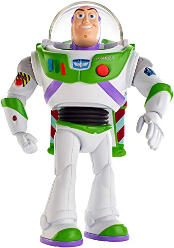 Disney Pixar Toy Story Ultimate Walking Buzz Lightyear, 17,8 cm hohe Figur mit über 20 Geräuschen und Sätzen, Laufbewegung und erweiterbaren Flügeln
