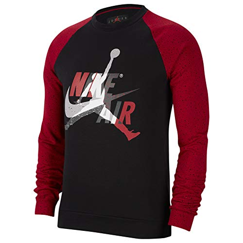 Nike Herren CK2848-010 Bluse, Black/Gym Red, M