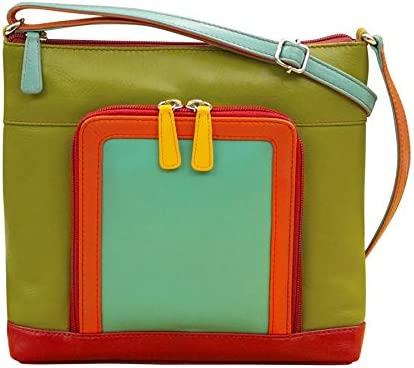 ili Max 85% OFF New York Cheap mail order specialty store 6331 Organizer Crossbody Leather