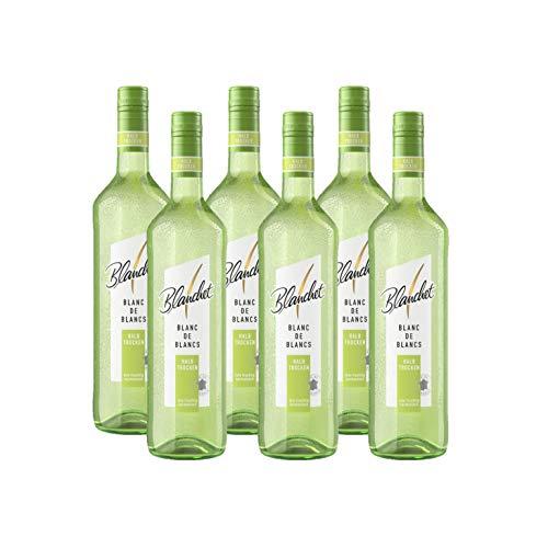 Blanchet Blanc de Blancs Weißwein Halbtrocken (6 x 0,75 l)