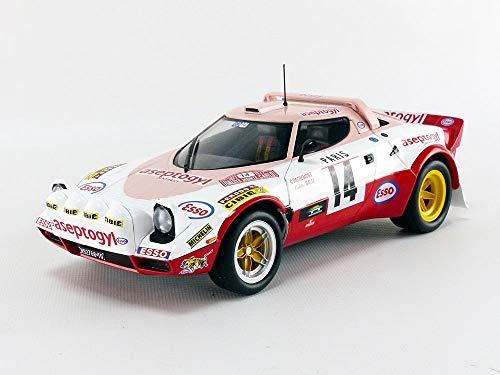 Solido, 1977 Lancia Stratos Rally Montecarlo - Maqueta de Coche Escala, 1:18