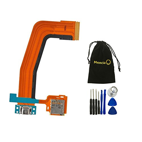 Mencia Charger Dock Charging Flex Cable and SD Card Holder For Samsung Galaxy Tab S 10.5 T800 T801 T805 T807 With Tools