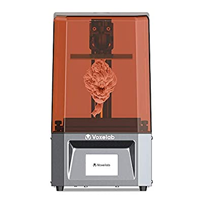 Voxelab Proxima 6.0 3D Printer UV Photocuring LCD 3D Printer with 6.08 inch 2K Monochrome LCD, Matrix UV LED Light Source, Off-Line Printing