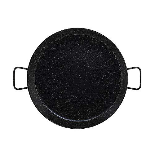 Metaltex - Paellera Acero Esmaltado 16 Raciones 55 cm