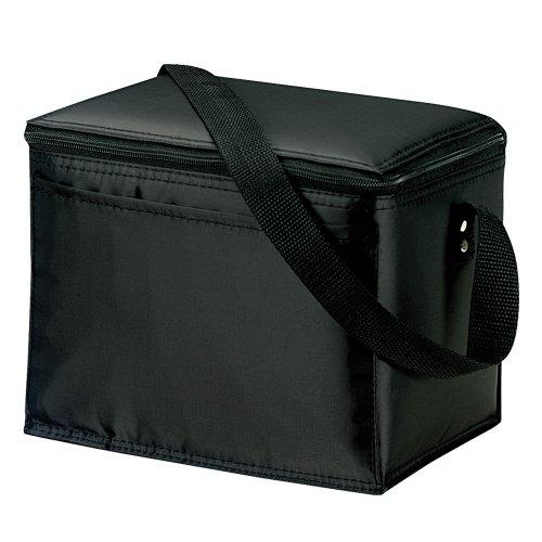 KOOZIE Lunch Cooler Sac Mixte, Noir, 22 x 16 x 18 cm