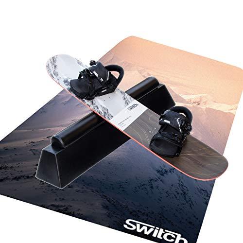 Switch Boards Jibbing Board PRO + Training Bindungen + Jibbing Rohr + Training Matte