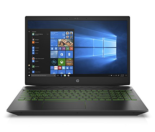 "HP Pavilion Gaming Laptop,15.6"" FHD IPS, Intel 8th Gen i5+8300H, NVIDIA GTX 1050Ti 4GB, 8GB RAM, 16GB Intel Optane Memory, 1TB HDD, Narrow border design, Windows 10 Home (15-cx0020nr,Black)"