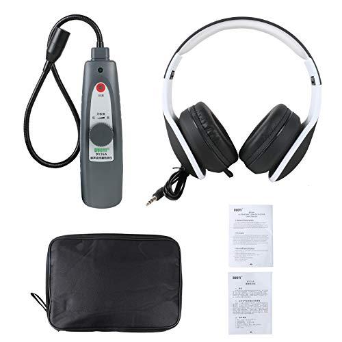 BELEY Detector de fugas ultrasónico, Probador de fugas del sistema de vacío de presión de agua y aire con kit de accesorios para auriculares