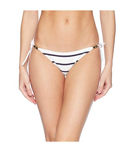 Heidi Klein Core Rope Tie Side Bottom Nautical LG