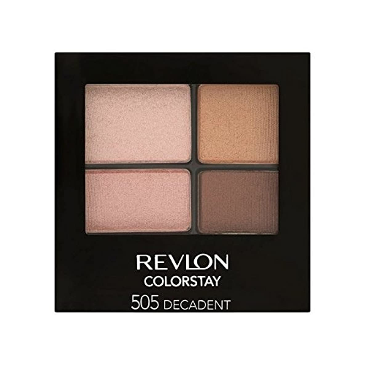出来事衝突パシフィックRevlon Colorstay 16 Hour Eye Shadow Decadent 505 (Pack of 6) - レブロン 16時間のアイシャドウ退廃505 x6 [並行輸入品]