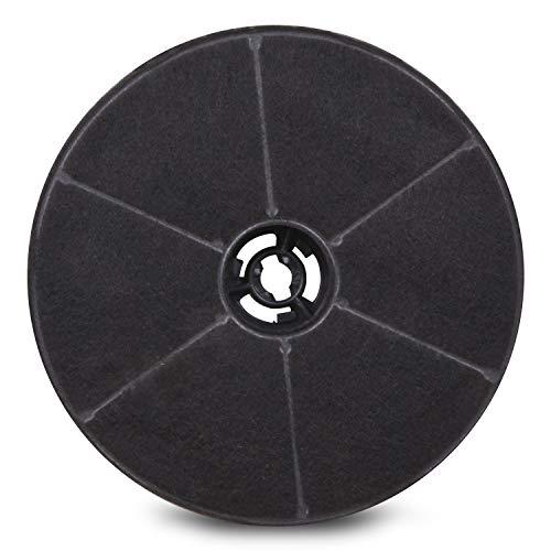 Filtro de carbón de repuesto para campanas extractoras AKPO 90 WK-4 Dandys Rustica WK-5 WK-7 WK-Light, 17,2 x 17,2 x 4,3 cm