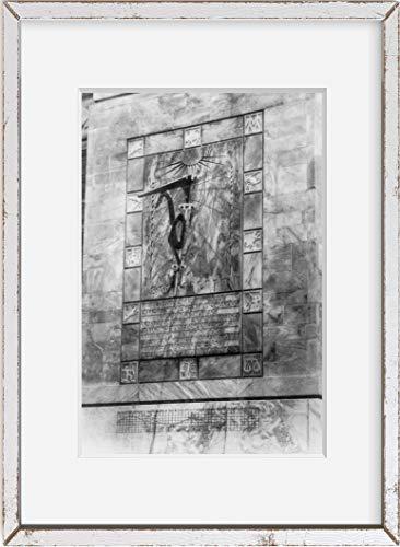 INFINITE PHOTOGRAPHS Photo: Sundial,Bok Singing Tower,Lake Wales,Florida,FL,c1930
