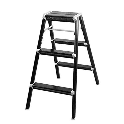 LLCY Escalera Taburete de la cocina multifuncional de la escalera de la escalera de la escalera multifuncional de la escalera de la escalera plegable de la escalera de seguridad de la casa de las esca