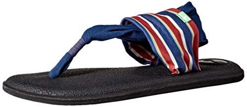 Sanuk Yoga Sling 2 Prints Sand Harbor Navy 7