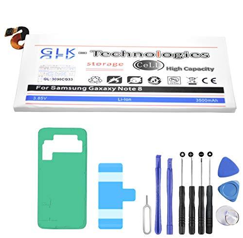 High Power Ersatzakku kompatibel mit Samsung Galaxy Note 8 SM-N950F EB-BN950ABE   Original GLK-Technologies Battery   accu   3500 mAh Akku   inkl. Werkzeug Set Kit NEU