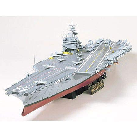 TAMIYA 300078007 - 1:350 Flugzeugträger US CVN-65 Enterprise