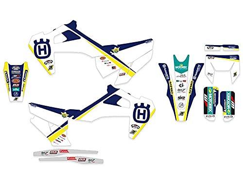 Blackbird Pegatinas para moto Husqvarna Te Tc Fe Fc 125 250 300 350 450 2020 2021 Team Maddi Racing