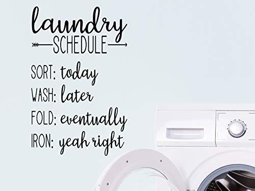 Wäsche, Schild für Wäschesammler, witziges Schild
