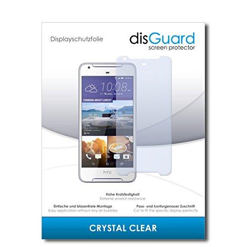 disGuard Displayschutzfolie für HTC Desire 628 Dual SIM [2 Stück] Crystal Clear, Kristall-klar, Unsichtbar, Extrem Kratzfest - Displayschutz, Schutzfolie, Glasfolie, Panzerfolie