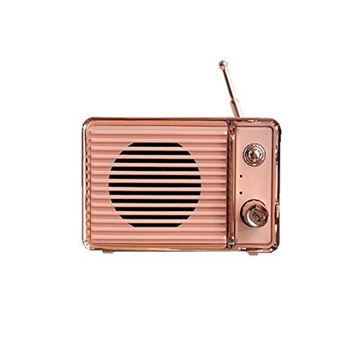 Portable Bluetooth Retro Speaker, Aresrora Mini Vintage Speaker TV Style, Bluetooth 5.0 Wireless...