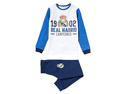 Pijama Niño Real Madrid 1902 Campeones Manga Larga Fino (6)