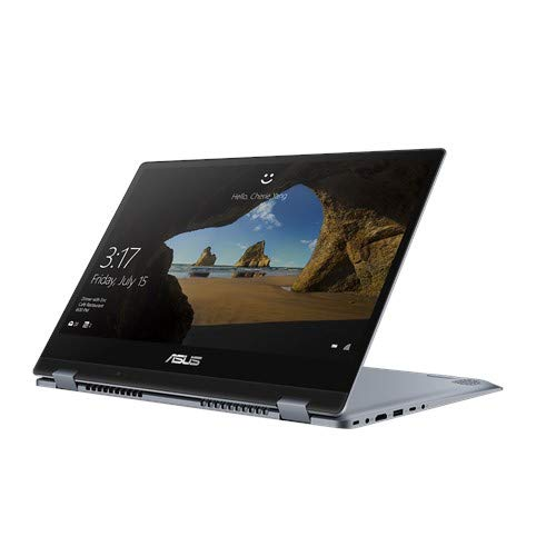 ASUS VivoBook Flip 14 Intel Core i3-10110U 10th Gen 14-inch 2-in-1 Thin and Light Laptop (4GB RAM/512GB NVMe SSD/Windows 10 Home/Integrated Graphics/Star Grey/1.5 kg), TP412FA-EC371TS