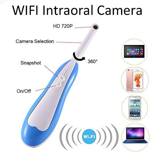 Camara Espia Mini Camara Spy CAM WiFi Cámara Intraoral Endoscopio Ligero USB Micro CAM Dientes Dentales Sesión De Fotos Uso En El Hogar Oral CAM Dentista Ip67 A Prueba De Agua