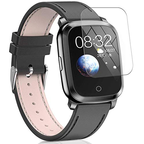 Vaxson 3-Pack TPU Pellicola Protettiva, compatibile con YoYoFit CV06 iR CV06iR Smart Watch, Screen Protector Film [Non Vetro Temperato Cover Case ]