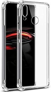 RKINC Case for Huawei Nova 3i, Crystal Clear Reinforced Corners Soft TPU Bumper Cushion + Hybrid Rugged Soft Transparent Panel Cover for Huawei Nova 3i