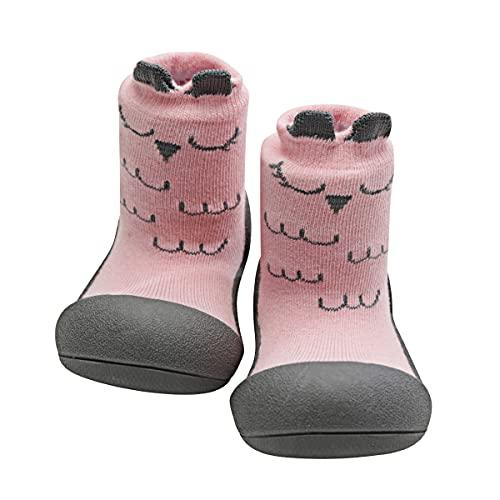 Attipas-Zapatos Primeros Pasos- Modelo Cutie (25,5, Rosa)