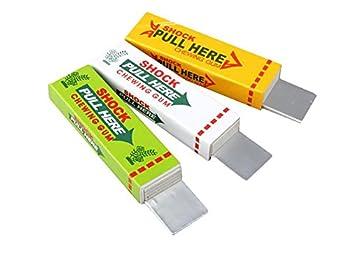 Electric Shock Joke Chewing Gum Shocking Toy Gift Gadget Prank Trick Gag Funny