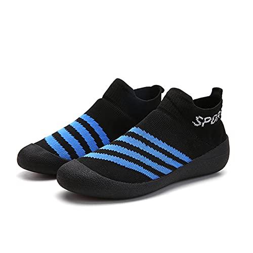 Sebasty Calzado Antideslizante Ultraportátil Multiusos para Mujer,Simple y Ligero,para Hombrea,Black-38