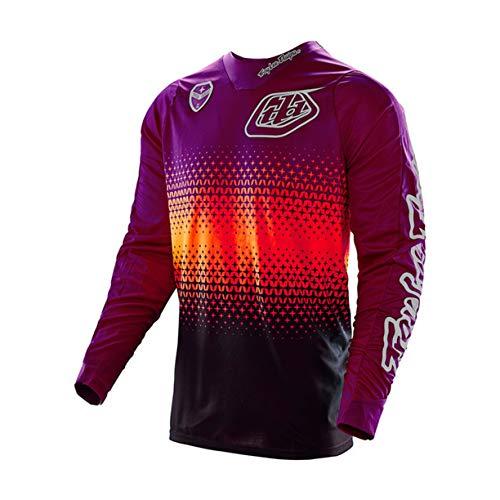 FMBK666 Jersey de Ciclismo para Hombre, Camisetas de Ciclismo de Manga Larga, Camiseta de Bicicleta de montaña Transpirable de Secado rápido, Ropa de Bicicleta de Carreras