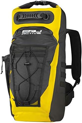 BRU Active Premium Dry Backpack Waterproof 35L Waterproof Backpack Sizes Zippers Drawstring product image