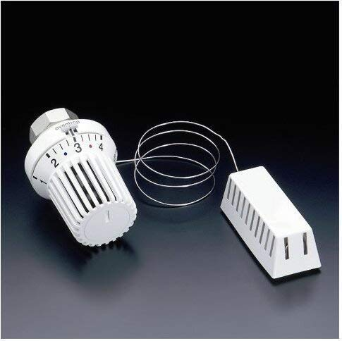 Oventrop Thermostat Uni XH weiß, 7-28 °C Kapillarrohr 5000 mm