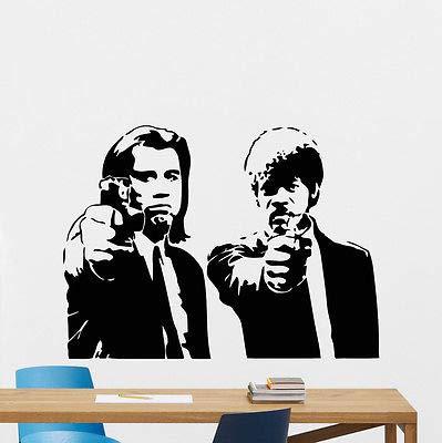 ganlanshu Movie Novel Adesivo da Parete in Vinile Adesivo Decorazione Artistica murale 57cmx42cm