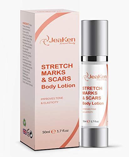 STRETCH MARK REMOVER - SCARS BODY LOTION - Firming Body Lotion Infused with Essential Oils and Extracts to Improve the Appearance of Scars Stretch Marks and Uneven Skin Tone - 50 ml