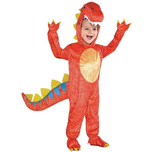 Amscan 844661-55) - Disfraz infantil con diseño Dinosaurio, talla S 4-6 años