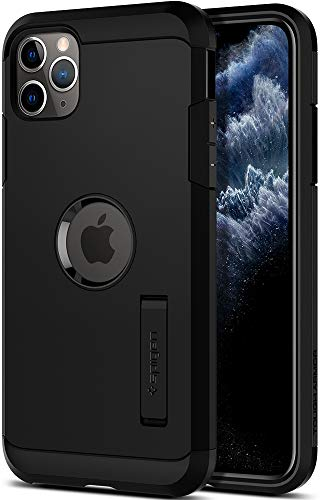 Spigen Tough Armor Hülle Kompatibel mit iPhone 11 Pro -Schwarz