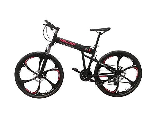 Helliot Bikes Hummer 01 Bicicleta de montaña Plegable, Unisex Adulto