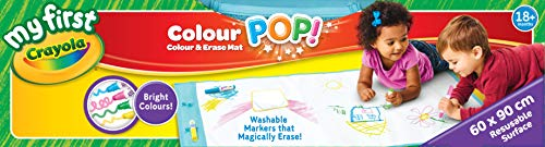 Crayola Mini Kids Color Pop - 81-2006-E-000 - Tapis de Dessin - Coloriage Qui s'Efface à l'eau