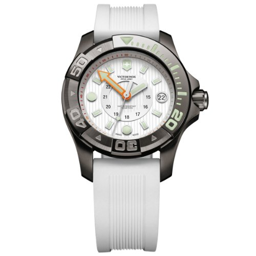 Victorinox Swiss Army Damen-Armbanduhr XL Professional Dive Master Analog Quarz Kautschuk 241556