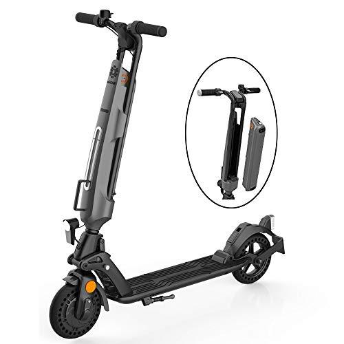 Elektroscooter für Erwachsene,E-Scooter mit Straßenzulassung (eKFV),ABE-Zertifizierter,Austauschbarer,Austauschbarer E-Scooter für Jugendliche,150 kg Tragfähigkeit,Faltbare,Stoßdämpfende Klapproller