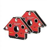 2pcs/Set Wm6-S Tipo de flecha Magnético Soldadura Eléctrica Soldadura Accesorio de Soldadura Titular De Soldadura Para Tres Dimensiones Soldadura Colocación Accesorio WM6-M