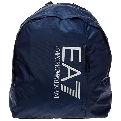 Emporio Armani EA7 mochila bolso de hombre en Nylon nuevo train prime blu