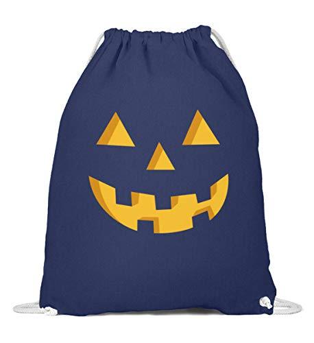 Bolsa de deporte con cara de calabaza para disfraz, regalo para fans de Halloween