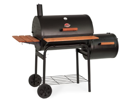 Char-Griller E1224 Smokin Pro 830 Square Inch Charcoal Grill with